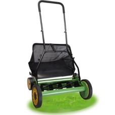 20-Height-Adjustable-Classic-Hand-Push-Lawn-Mower-Reel-Grass-Catcher-0