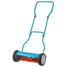 4023-U-Gardena-Hardened-15-Non-Stick-Coating-Steel-Silent-Push-Reel-Lawn-Mower-0