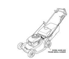 GENUINE-OEM-Honda-Harmony-II-HRR216-HRR216SDA-Walk-Behind-Lawn-Mower-Engines-CLUTCH-DRIVE-CABLE-Frame-Serial-Numbers-MZCG-6186179-to-MZCG-6299999-0-0