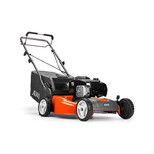 how to start husqvarna awd lawn mower