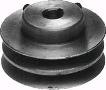 Lawn-Mower-58-X-3-716-Double-Pulley-Replaces-BOBCATRANSOM-38183-OREGON-78-678-PRIME-LINE-7-05335-SUNBELT-B159404-SUNBELT-B1SB6608-0