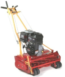 McLane-25-800GT-7-25-Inch-800-Gross-Torque-Briggs-Stratton-Gas-Powered-Self-Propelled-7-Blade-Front-Throw-Reel-Mower-with-Grass-Catcher-0