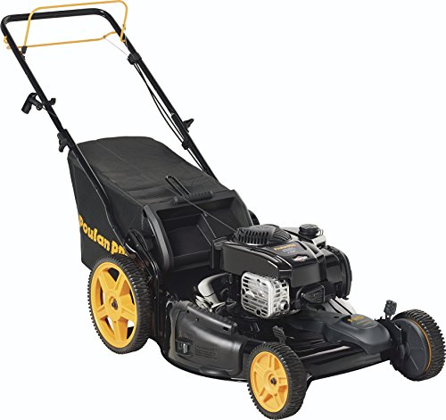 Poulan Pro 961420177 Pr625y22rhp Briggs 625ex Side Discharge Mulch Bag 3 In 1 Hi Wheel Front Self Propelled Mower 22 Inch Deck The Best